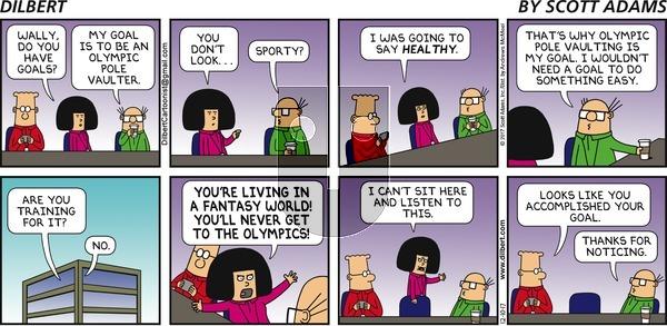 Dilbert on Sunday December 10, 2017 Comic Strip