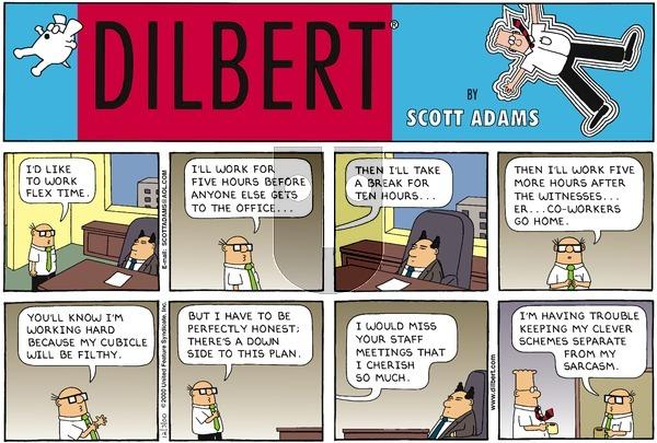 Dilbert - Sunday December 3, 2000 Comic Strip