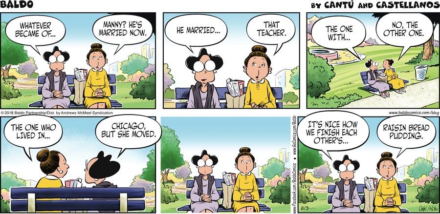 Baldo for Jun 3, 2018 Comic Strip