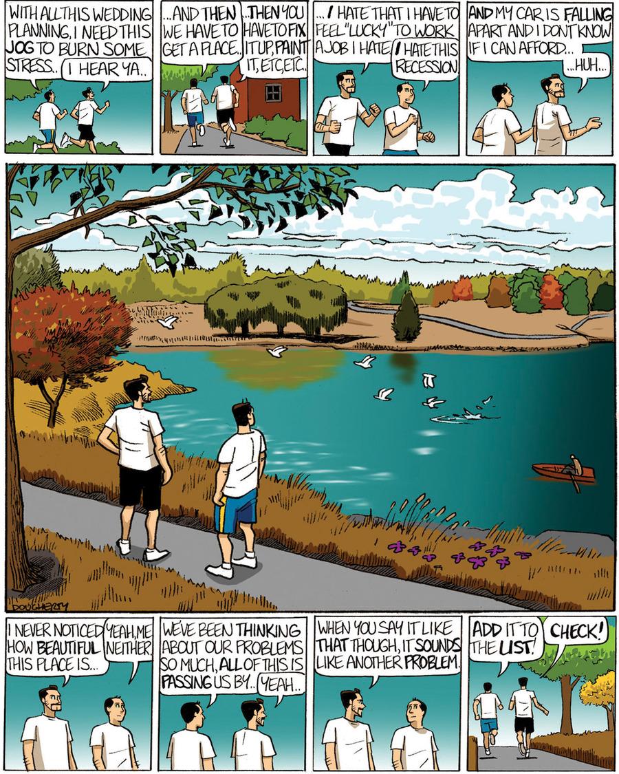 Beardo for Dec 24, 2011 Comic Strip