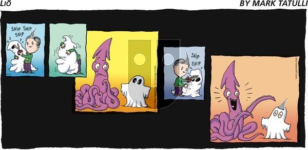 Lio on Sunday October 25, 2015 Comic Strip