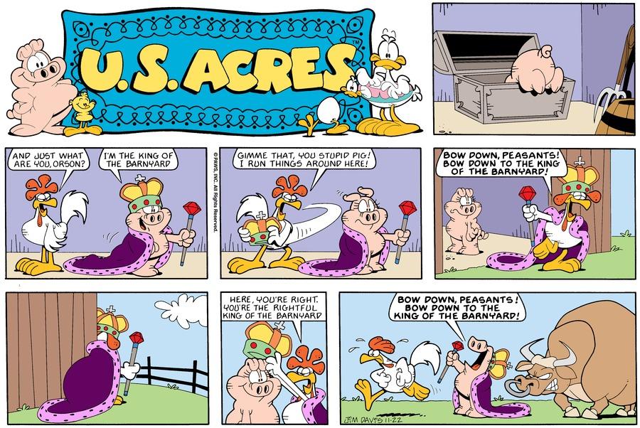 U.S. Acres Comic Strip for November 18, 2012