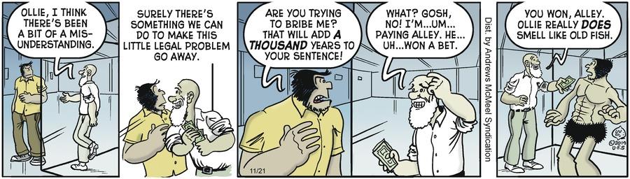 Alley Oop Comic Strip for November 21, 2019