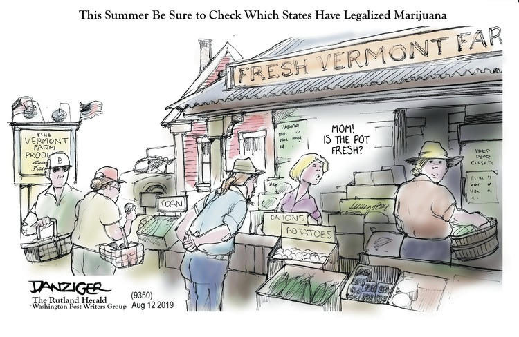 Jeff Danziger Comic Strip for August 11, 2019
