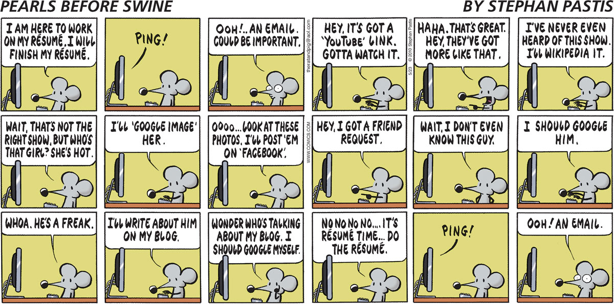 Pearls Before Swine Comic Strip for May 23, 2010