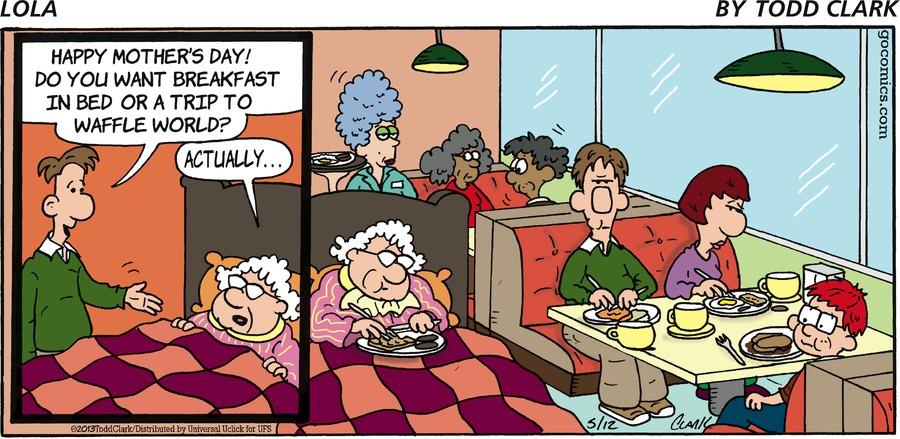 Lola Comic Strip for May 12, 2013