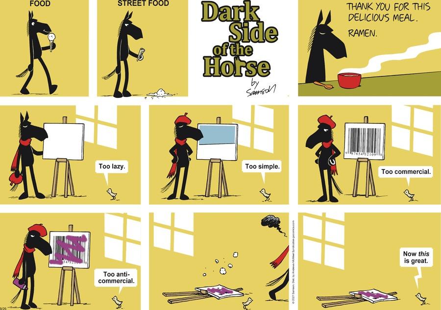 Dark Side of the Horse Comic Strip for September 26, 2021