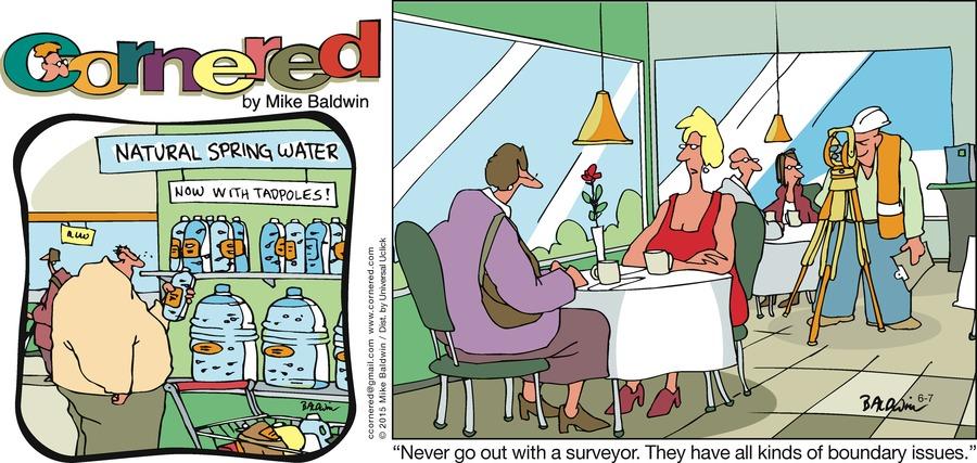 Cornered Comic Strip for June 07, 2015