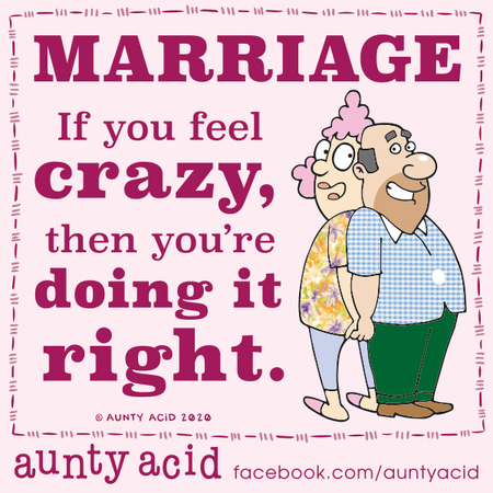 Aunty Acid Comic Strip for March 04, 2020