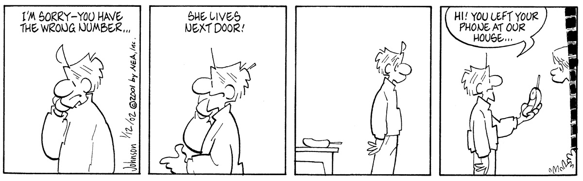 Arlo and Janis Comic Strip for January 12, 2002