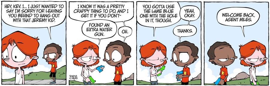 Crabgrass Comic Strip for September 11, 2019