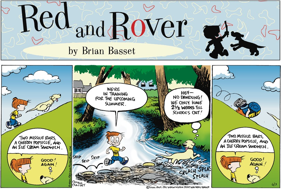 Red and Rover for Jun 3, 2001 Comic Strip