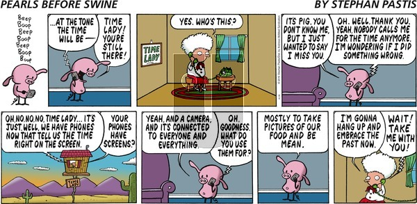 Pearls Before Swine on Sunday August 4, 2019 Comic Strip