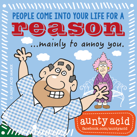 Aunty Acid by Ged Backland for January 16, 2019