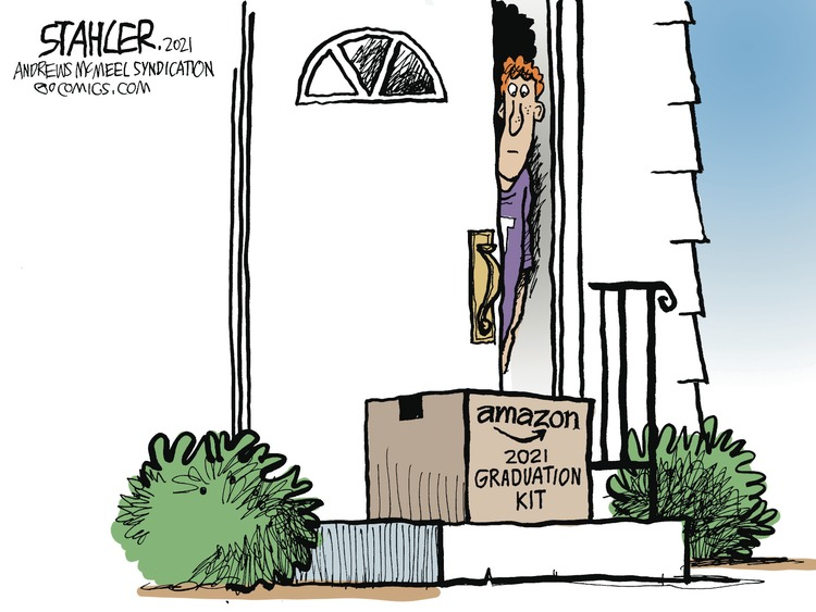 Jeff Stahler by Jeff Stahler on Sun, 02 May 2021