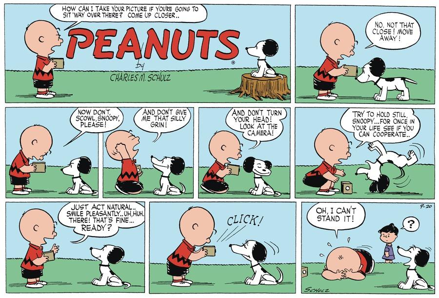 Peanuts Begins Comic Strip for September 17, 2021