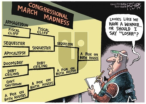 Rob Rogers - Sunday March 10, 2013 Comic Strip