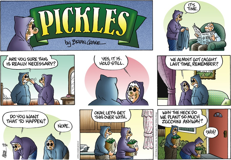 Pickles Comic Strip for September 30, 2012