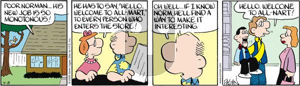 Drabble on Wednesday April 8, 2009 Comic Strip