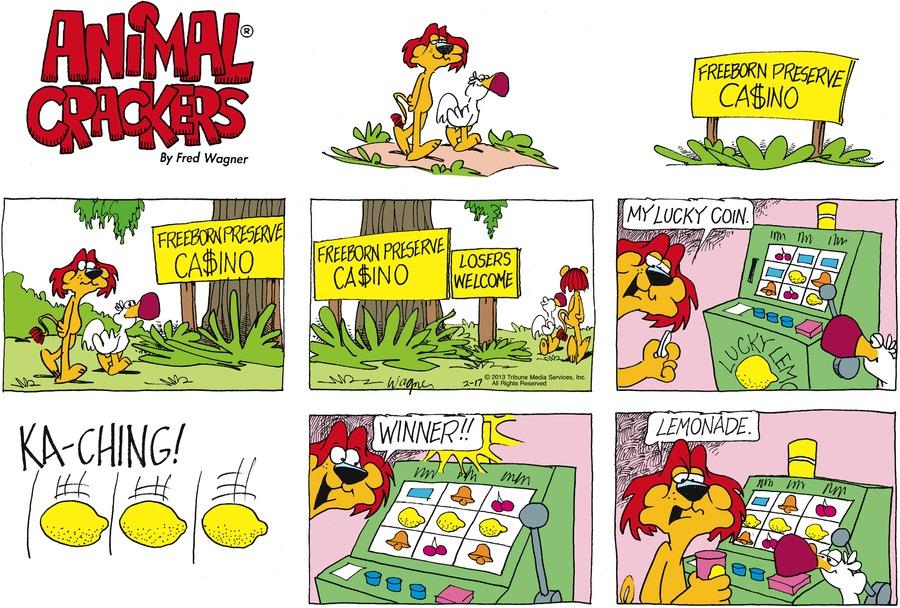 Animal Crackers for Feb 17, 2013 Comic Strip