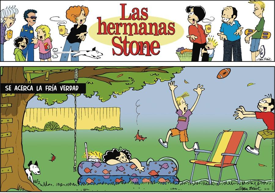 Las Hermanas Stone Comic Strip for September 19, 2021