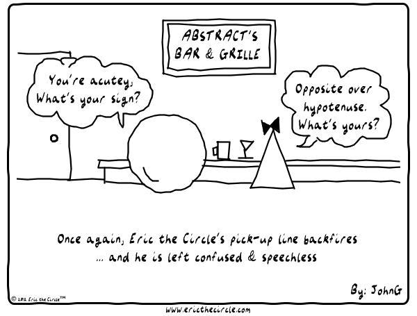 Eric the Circle for Jan 14, 2013 Comic Strip