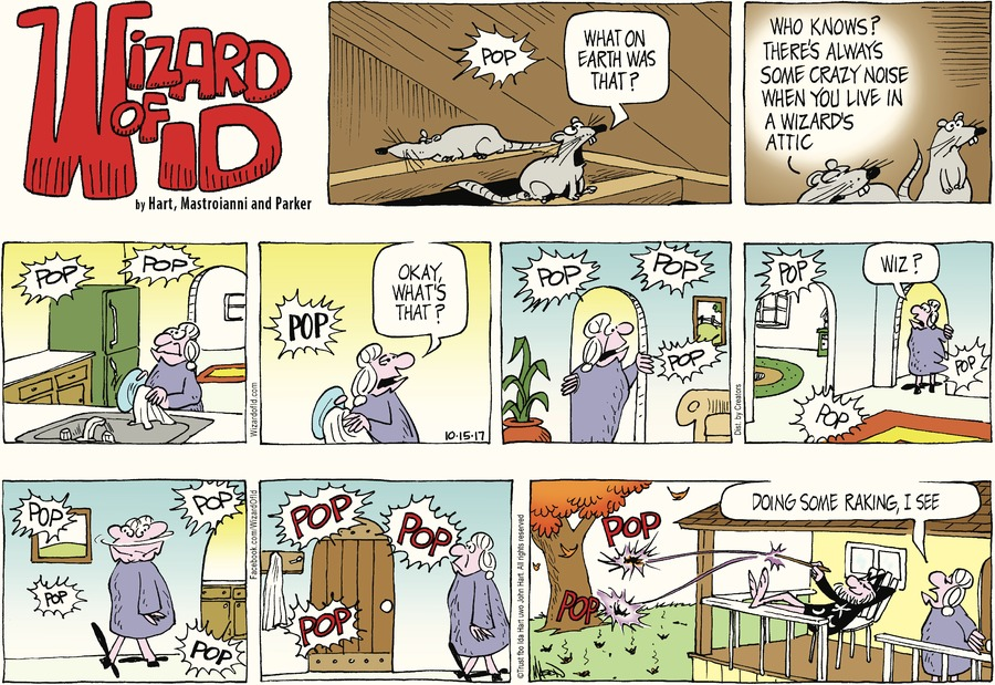 Wizard of Id Comic Strip for October 15, 2017