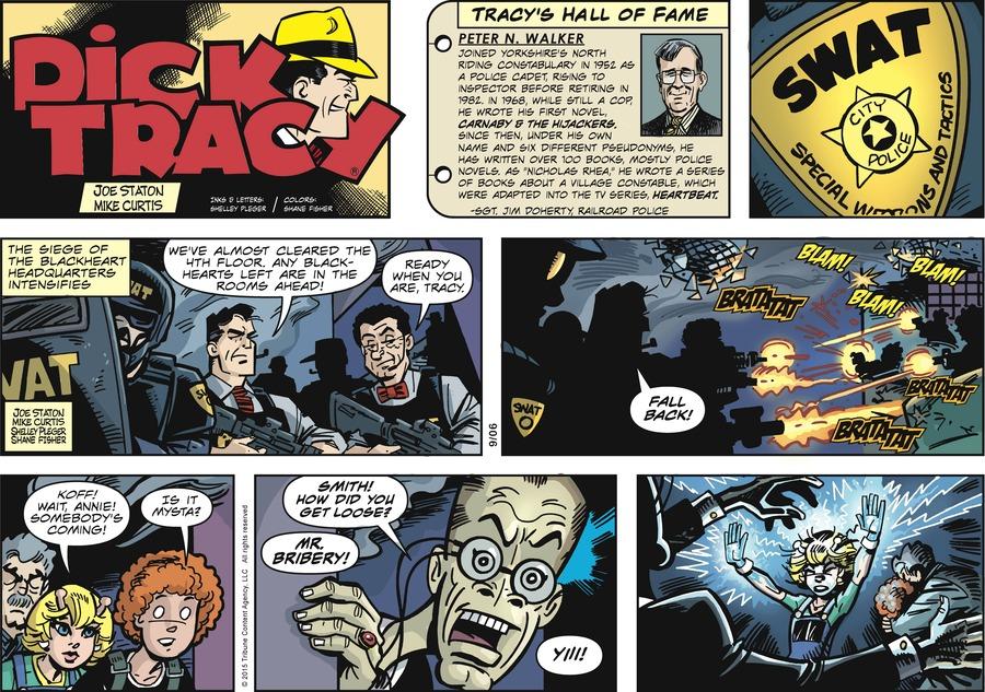 Dick Tracy Comic Strip for September 06, 2015