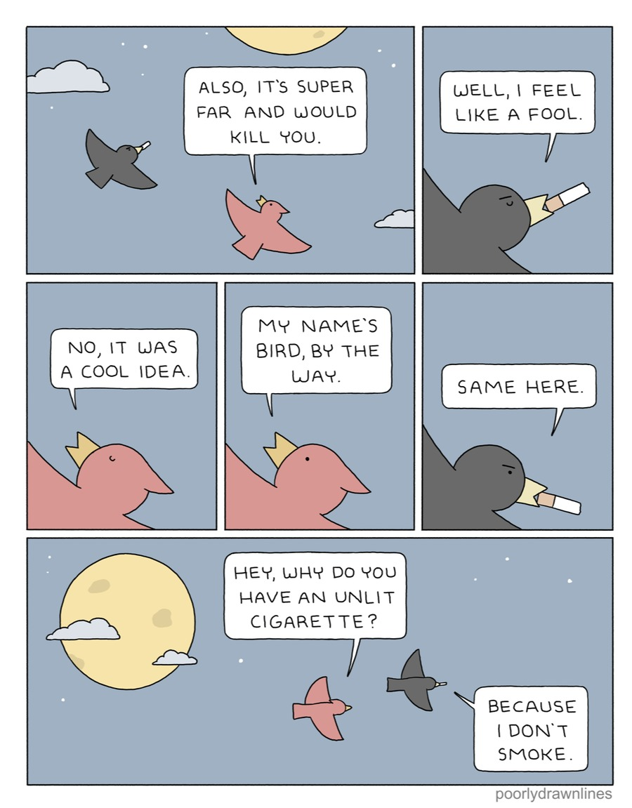 Poorly Drawn Lines Comic Strip for March 07, 2021