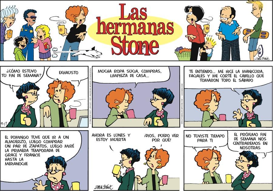 Las Hermanas Stone for Sep 17, 2017 Comic Strip