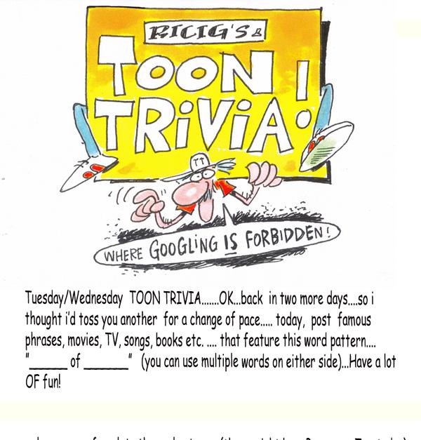 Ricig's Toon Trivia