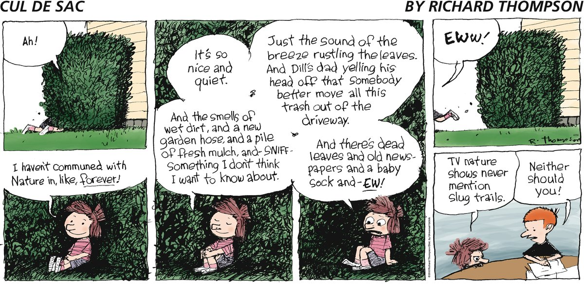 Cul de Sac Comic Strip for April 29, 2012