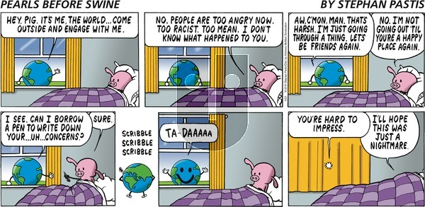 Pearls Before Swine on Sunday June 23, 2019 Comic Strip