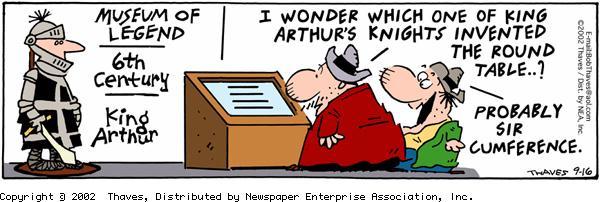 Frank and Ernest Comic Strip for September 16, 2002