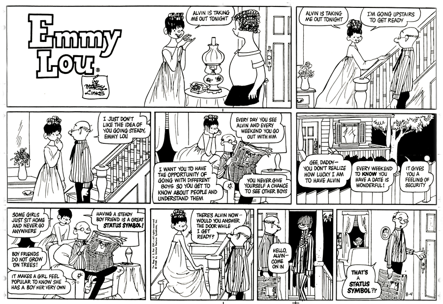 Emmy Lou for Jul 14, 2013 Comic Strip