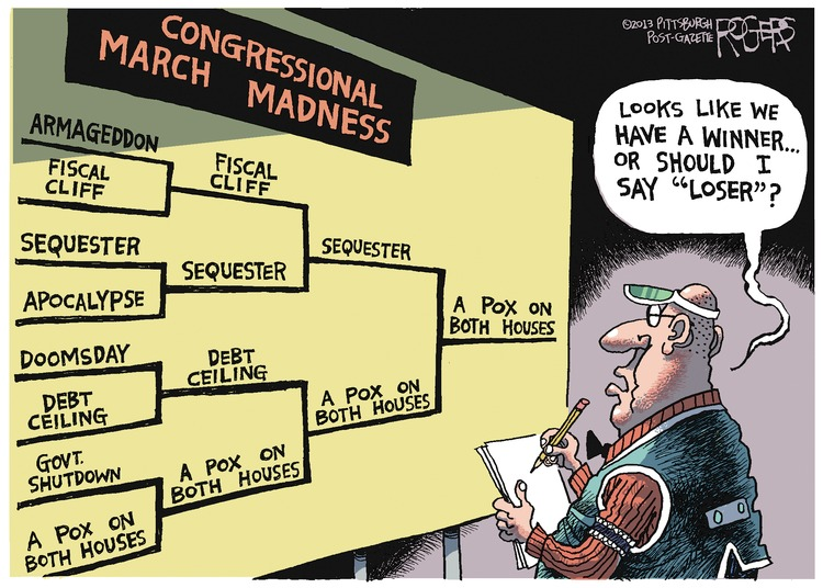 Rob Rogers Comic Strip for March 10, 2013