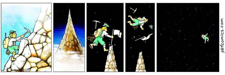 Perry Bible Fellowship Comic Strip for July 30, 2021