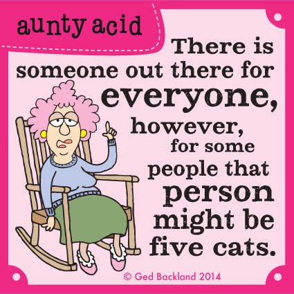 Aunty Acid for Feb 28, 2014 Comic Strip