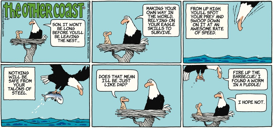 The Other Coast Comic Strip for June 27, 2021
