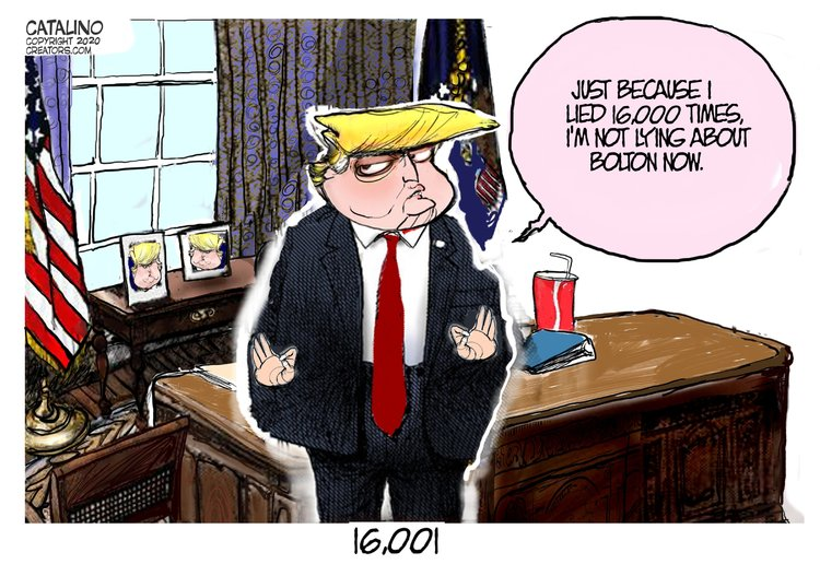 Ken Catalino Comic Strip for January 30, 2020