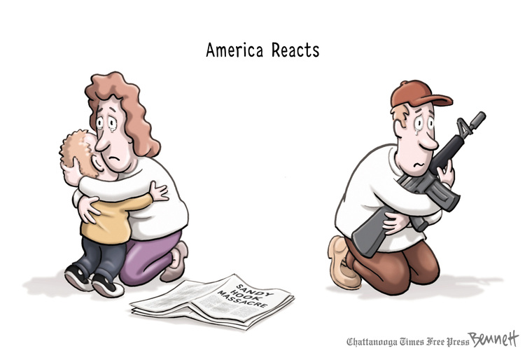 Clay Bennett Comic Strip for December 18, 2012
