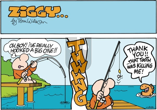 Ziggy on Sunday May 9, 2021 Comic Strip