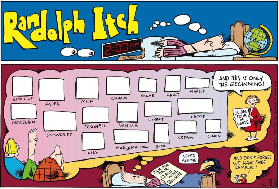 Randolph Itch, 2 a.m. for Apr 28, 2013 Comic Strip
