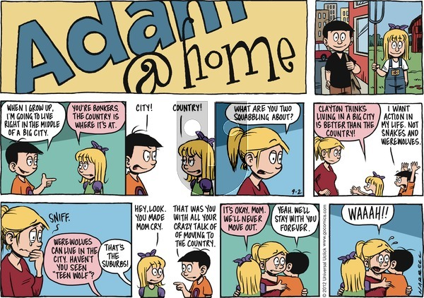 Adam@Home - Sunday September 2, 2012 Comic Strip