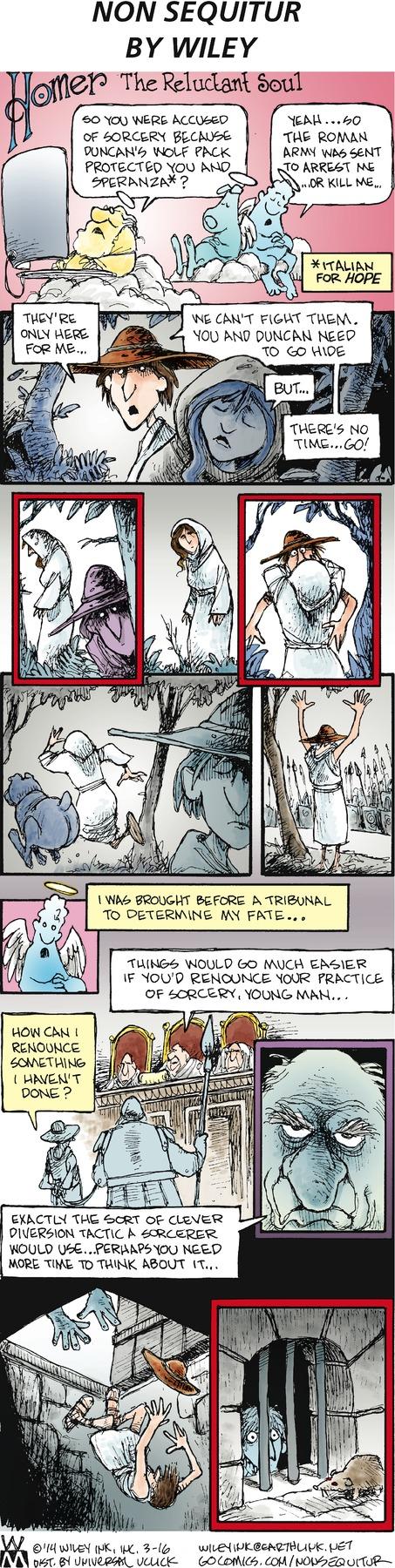 Non Sequitur for Mar 16, 2014 Comic Strip