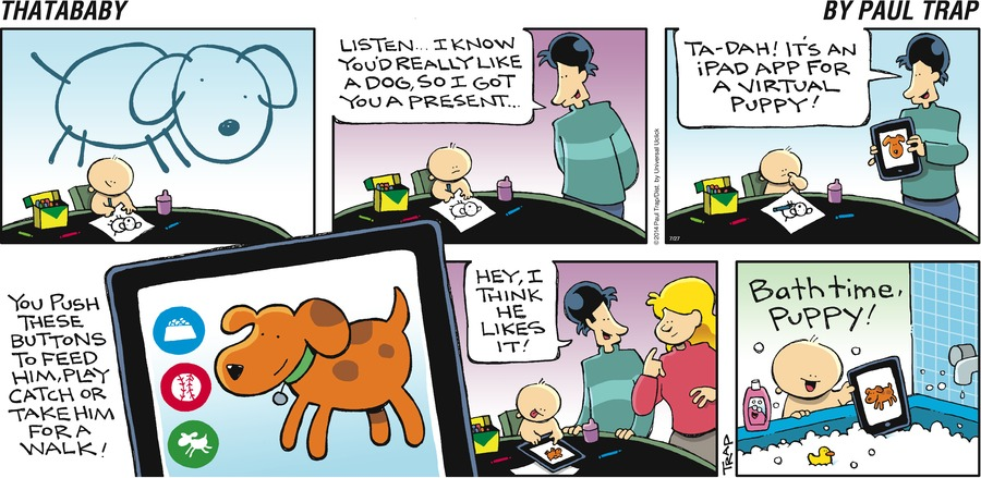 Thatababy Comic Strip for July 27, 2014