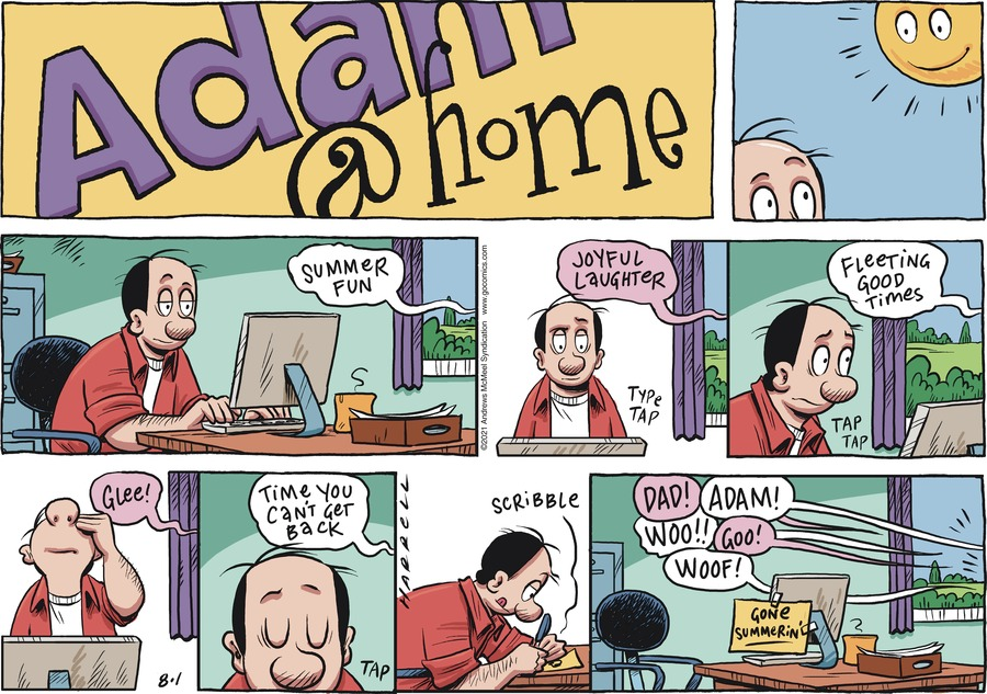 Adam@Home Comic Strip for August 01, 2021