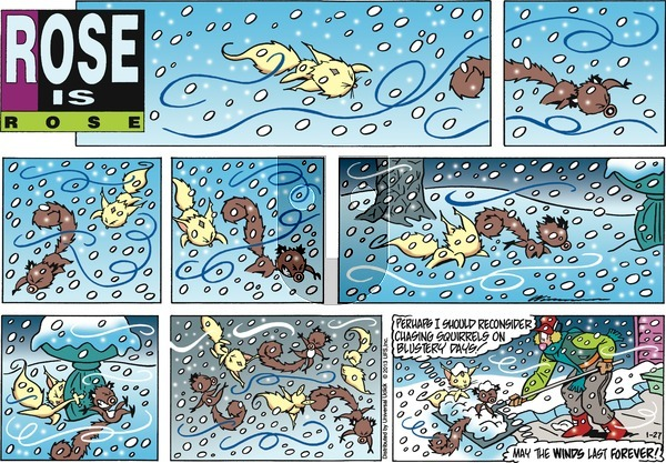 Rose is Rose on Sunday January 27, 2013 Comic Strip