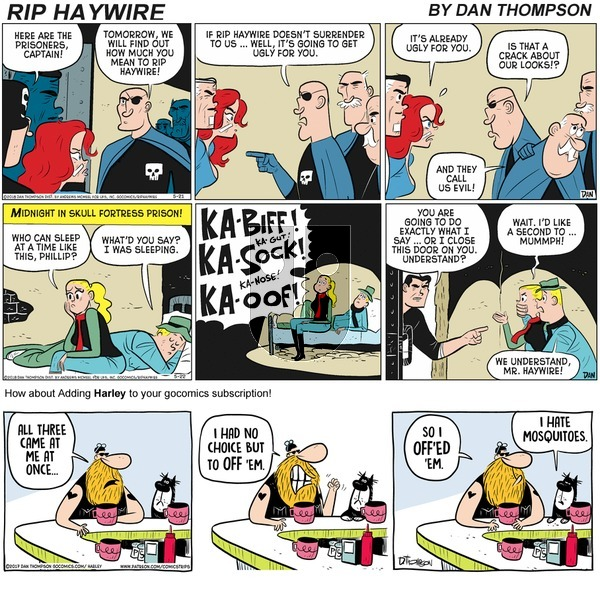 Rip Haywire on Sunday October 25, 2020 Comic Strip
