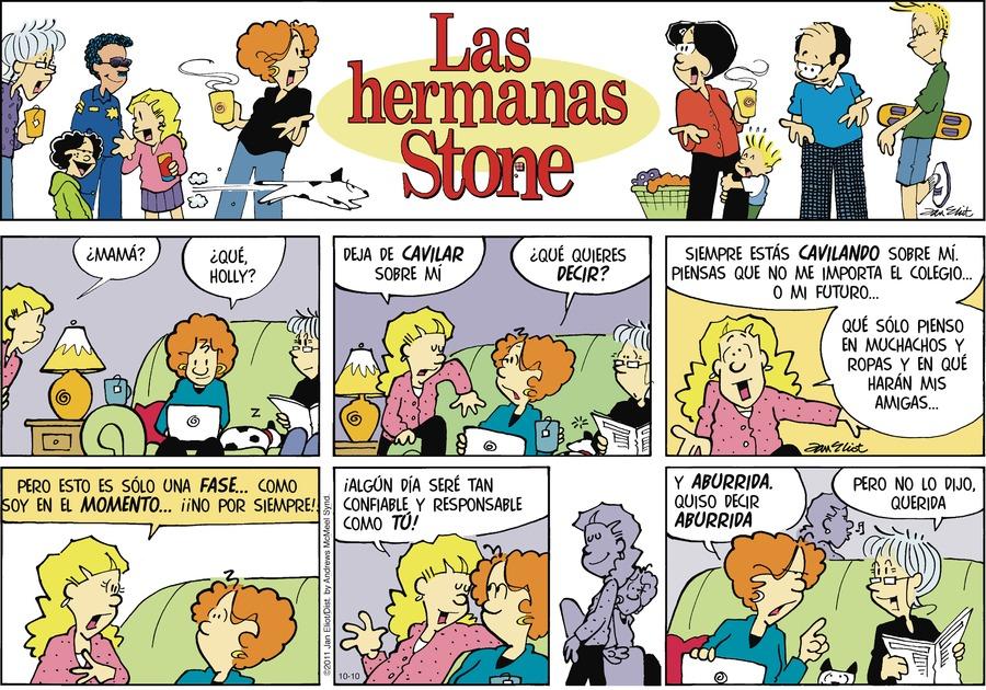 Las Hermanas Stone by Jan Eliot on Sun, 10 Oct 2021